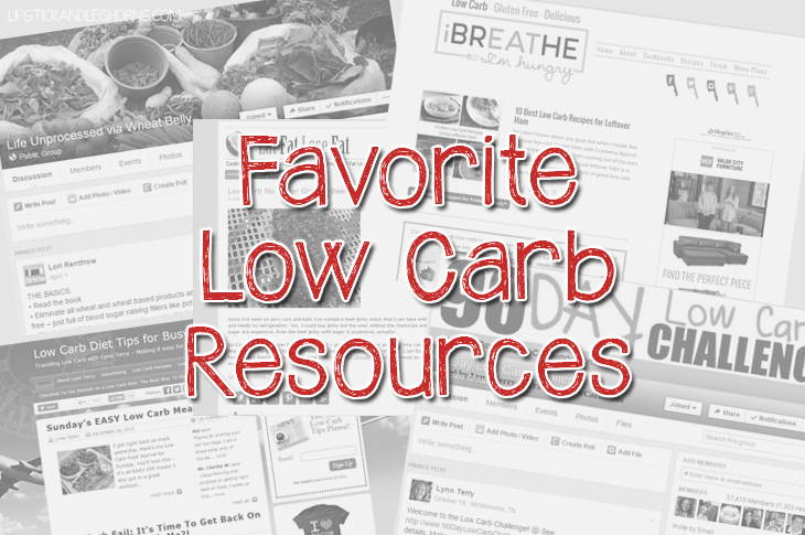 Favorite Low Carb Resources