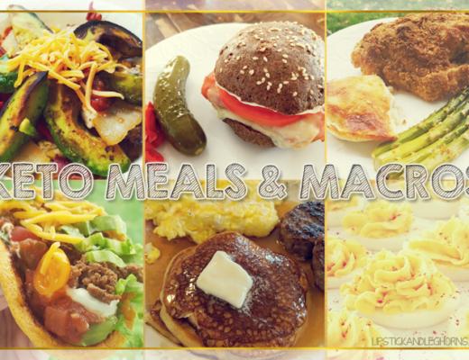 Keto Meals & Macros