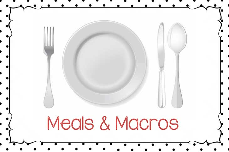 meals and macros