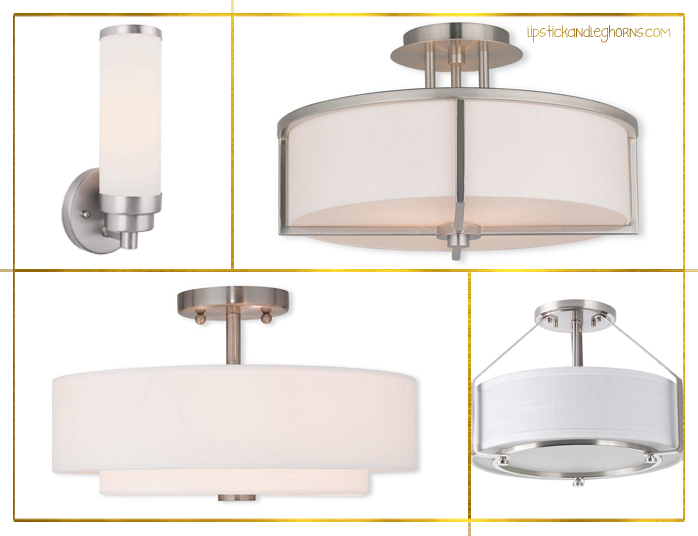 Bathroom Lighting Ideas - Livex, Progress, Shandy