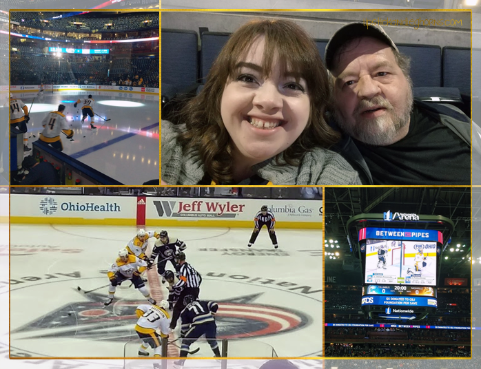 Nashville Predators vs. Columbus Blue Jackets, Jan. 10, 2019
